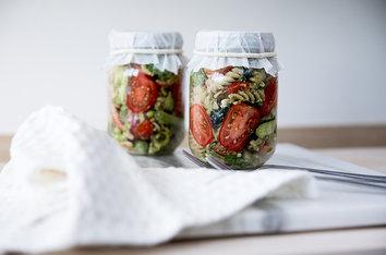 Foodlab - Vi har lagat lunch in a jar