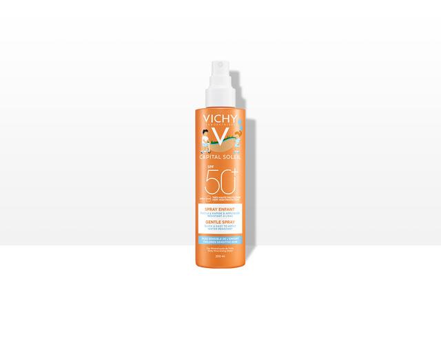 Solspray till barn SPF 50+, ansikte och kropp