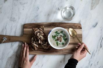 Foodlab - Vi har lagat Jamie Olivers svampsoppa