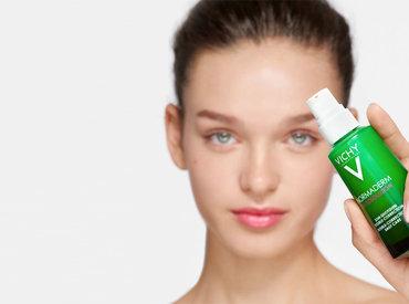 Din oljig och oren hud behöver omvårdnad hela dagen