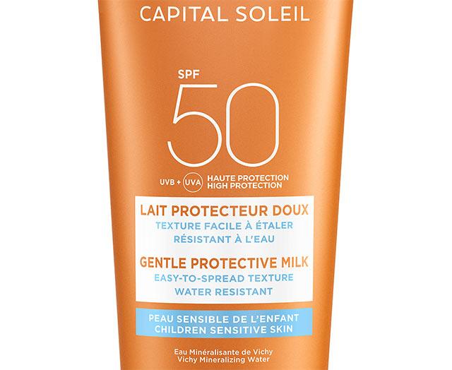 Sollotion till barn SPF 50, ansikte och kropp